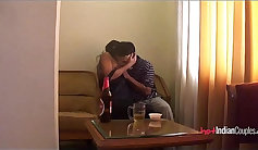 Beautiful indian young couple and horny teen small