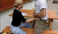 Crazy mom Cryingo Starr gets big cock rock in orgasm