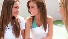 Very SMH lesbian action with juicy babe