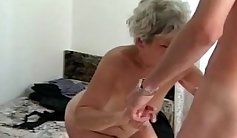 Mature Cytherea meets Ashton Tyler in her first time fucking a young cock