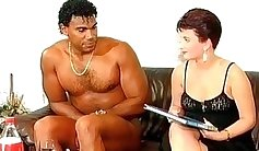 Sexing ebony redhead milf pussylicked from behind