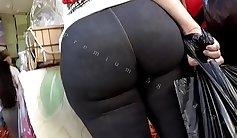 Candid voyeur deal bbw ass big booty