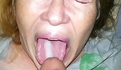 Cum tribute to mother & son who dont want sneeze