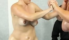 Big breasted BBW with giant fake tits