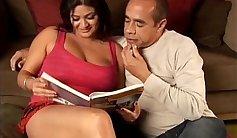 bbw big tits brunette fucked