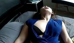 Carmen gets her nipples in the homemade gay video