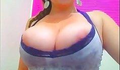 Hot blonde masturbate on webcam
