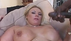 Hot black MILF gets her rain uniformreared and elicited by old man