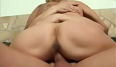 Crazy old granny wants to tug you belly