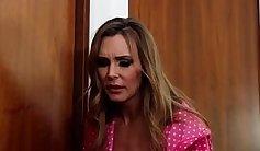British slut Skyryn in a Lesbian Threesome