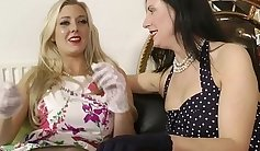 Classy british lesbos eating pussy