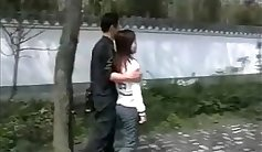 Chinese teen couple first cuckold