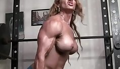 Busty redhead cougar that can pull an iron dicks at her gym is fucked