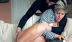 Amateur straighty stroking and cumming