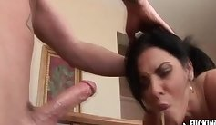 Courtney Tate Gagging Plastic Long Hard Dick