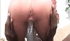 Blonde mom wants Big Black Cock for herself