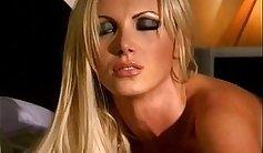 Cum-addicted nasty sweetie Nikki Benz masturbates passionately