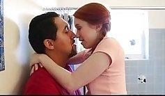 Redhead teen romani fucked outdoors dad