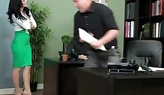Busty blonde slut hammered in the office with pawn man