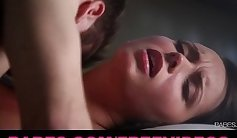 All natural big body brunette Kova Rae exposes to boyfriend