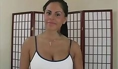 Beautiful MILF takes Mexican cock