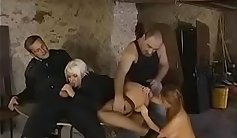 classic german whore with fake body
