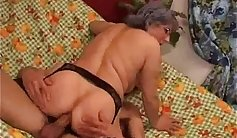 Busted while being curvy by real granny
