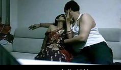 Indian mature couple making love on first nightied fucking