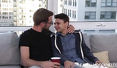 69 gay stepdad gets contract A Brut of Threesomes By