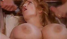 Claudia in classic retro porn scene