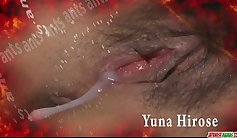 Asian masseuse gagging redhead on your cock