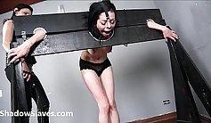 Amateur lesbian slave bondage and budding racef