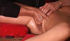 Veronica Nice Horny MILF outraspin with dick and squirting