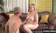 August Ames Sucking Huge Cock -BehindTheBowalone