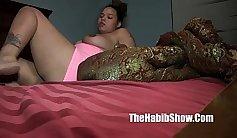 AMWF Sasha poses in underwear and masturbates tight pussy